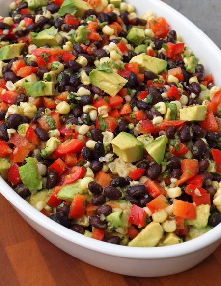 Black bean salad 1