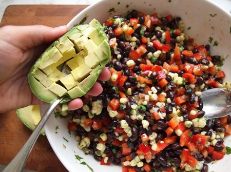 Black bean salad 13