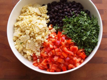 Black bean salad 12