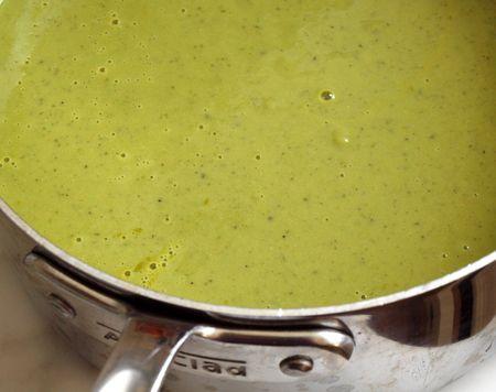 Spring Pea Pesto Soup 13