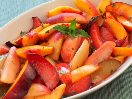 Stone fruit salad 1